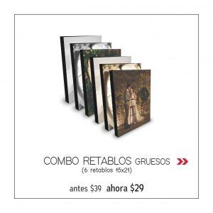 PROMO 4 _ 6 retablos 15x21 x 29usd