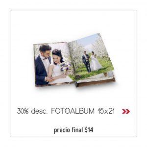 PROMO6 FOTO ALBUM 15X21 x 14USD.