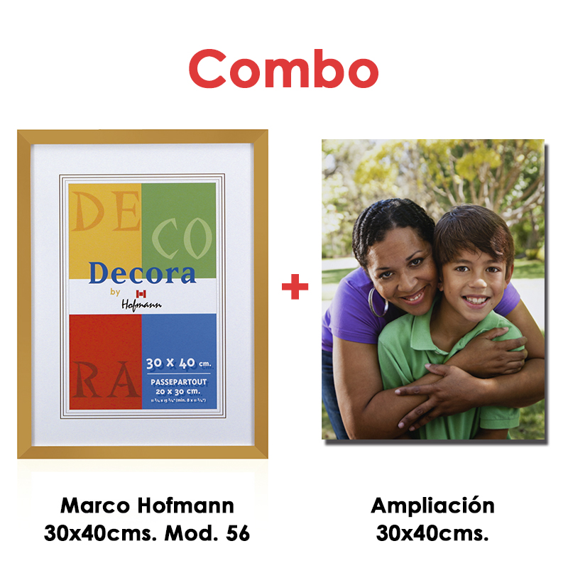Fujistore   Combo Foto 30x40cms. + Marco Hofmann Mod. 56